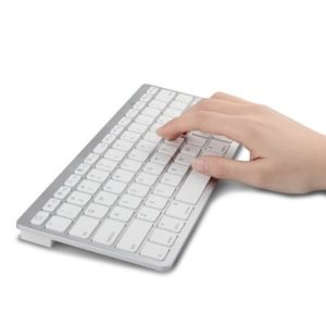 Ultra-Thin 78-Key Bluetooth Wireless Keyboard