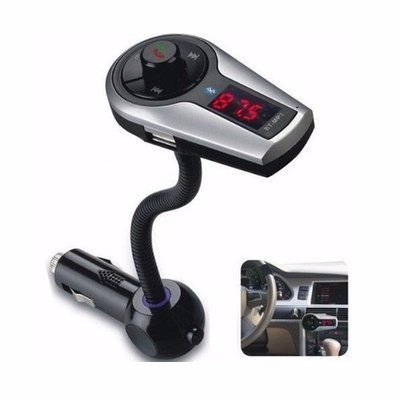 Car Bluetooth Handsfree With MP3 Player & FM Transmitter
