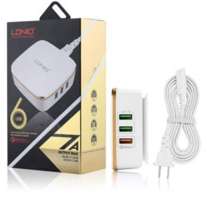 6-USB-Port-Auto-ID-Compatible-Charger---7-0A-Quick-Charger